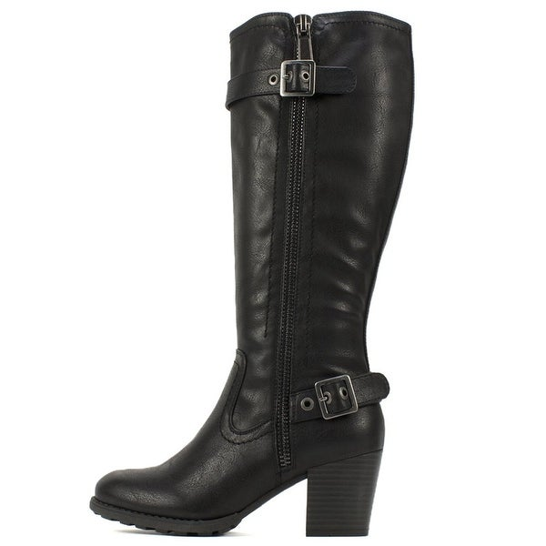 White Mountain Womens Dover Closed Toe Knee High Fashion Boots