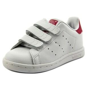 Adidas Stan Smith CF I Toddler Round Toe Leather White Sneakers