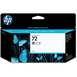 HP 72 130-ml Gray DesignJet Ink Cartridge (C9374A) (Single Pack) HP 72 Gray Ink Cartridge - Gray - Inkjet - 1 Each