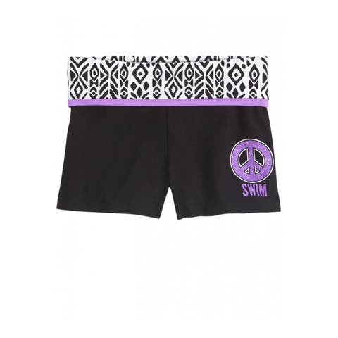 Justice Girls Swim Yoga Athletic Workout Shorts - 5