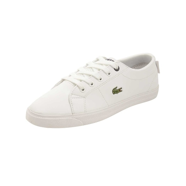 53fcb81b Shop Lacoste Toddler Marcel Lace 216 Sneakers in White - Free ...