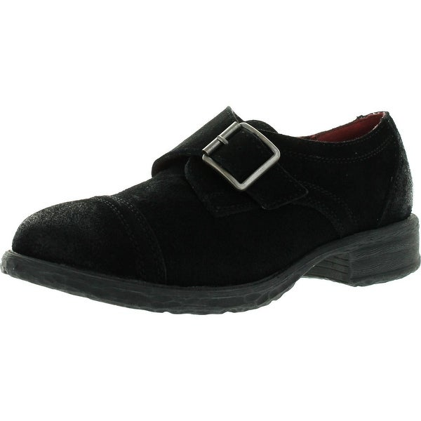 Very Volatile Womens Emerson Fashion Buckle Oxford Shoes