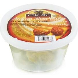 Okay Shea Butter Jar Chunks White, 10 oz