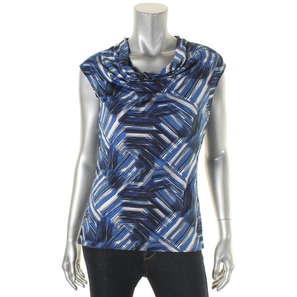 50a1465f15 Shop Kasper Womens Cami Printed Cowl Neck - Free Shipping On Orders Over  $45 - Overstock - 17307314
