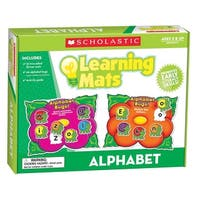 Scholastic Hands-On Learning Alphabet Mats