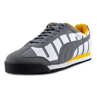 Puma Roma Big Logo Round Toe Synthetic Sneakers