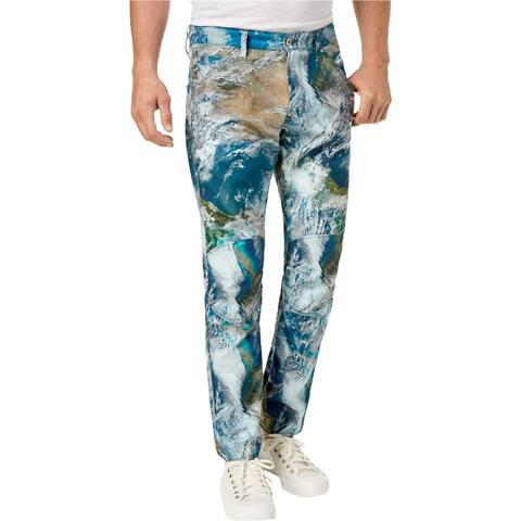 G-Star Raw Mens Earth Camo Straight Leg Jeans - 34W x 32L
