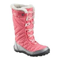 48b034a549be Columbia Children s Minx Mid III Print Omni-Heat Boot Camellia  Rose Rosewater