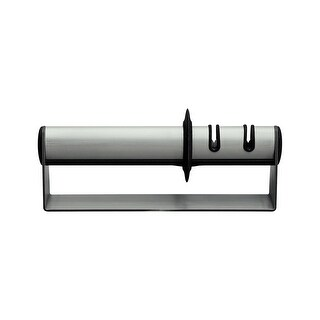 ZWILLING J.A. Henckels TWINSHARP Duo Stainless Steel Handheld Knife Sharpener