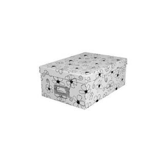 Pioneer Black & White Designs Photo Storage Box