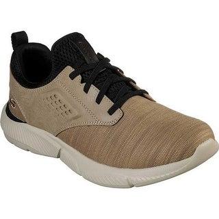 Shop Skechers Men's Relaxed Fit Ingram Taison Sneaker Dark