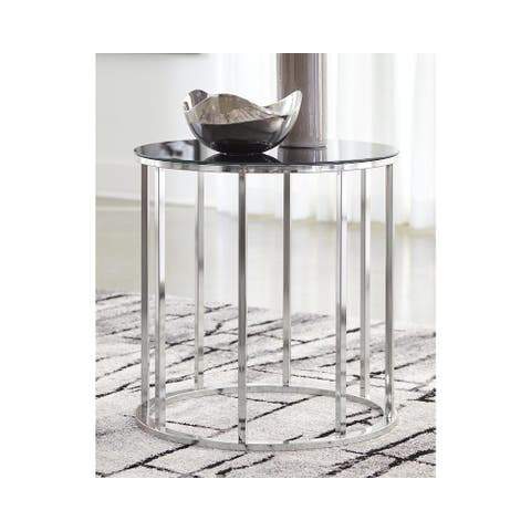 Clenco Ultra-Modern Round End Table