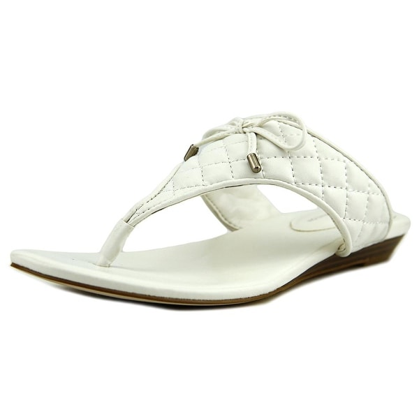 BCBGeneration Alice   Open Toe Synthetic  Thong Sandal