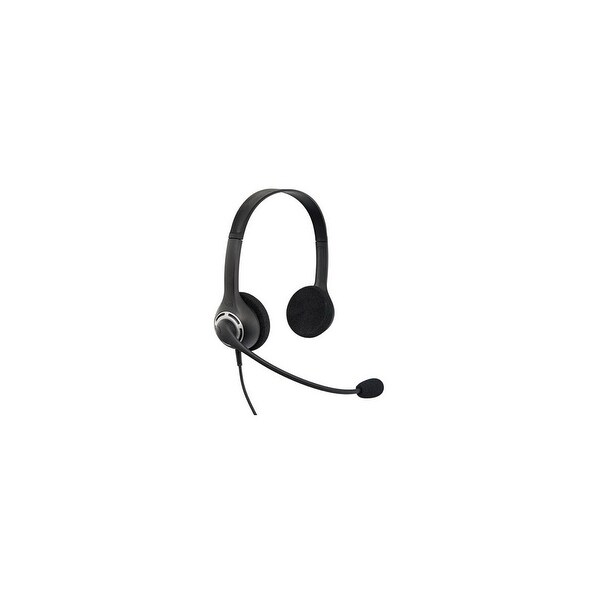 """VXI 203706 VXi Envoy Office Headset - Stereo - USB - Wired - 32 Ohm - 20 Hz - 20 kHz - Over-the-head - Binaural - Supra-aural"""