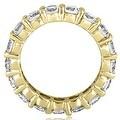 4.25 cttw. 14K Yellow Gold Round Diamond Eternity Ring,HI,SI1-2 - Thumbnail 1