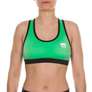 Venum Essential Racer Back Sports Bra Top - Green (2 options available)