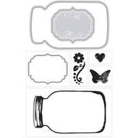 Mason Jars - Momenta Stamp & Die Set