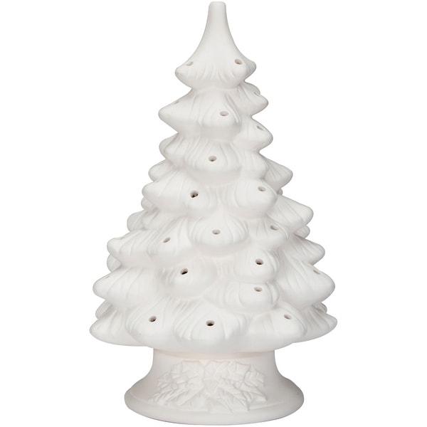 Diy Ceramic Christmas Tree 11 4 Unfinished Unfinished