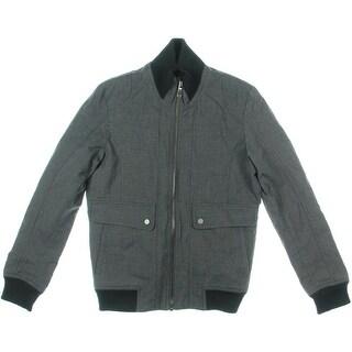 Zara Mens Seamed Long Sleeves Coat - S