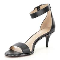 Coach Womens Maude Soft Milled Leather Open Toe Casual Ankle Strap Sandals
