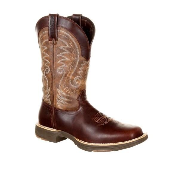 "Durango Western Boots Mens Ultra-lite 12"" Square Waterproof"