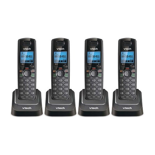 VTech DS6101-11 (4-Pack) Additional Handset with Message Waiting Indicator