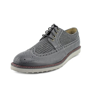 Hush Puppies Full Wing Wedge Men  Wingtip Toe Leather  Oxford