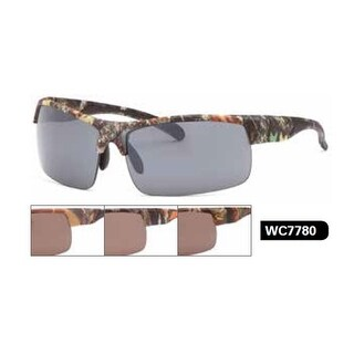 West Coast Unisex-Adult Camo Sunglasses (Option: Orange)