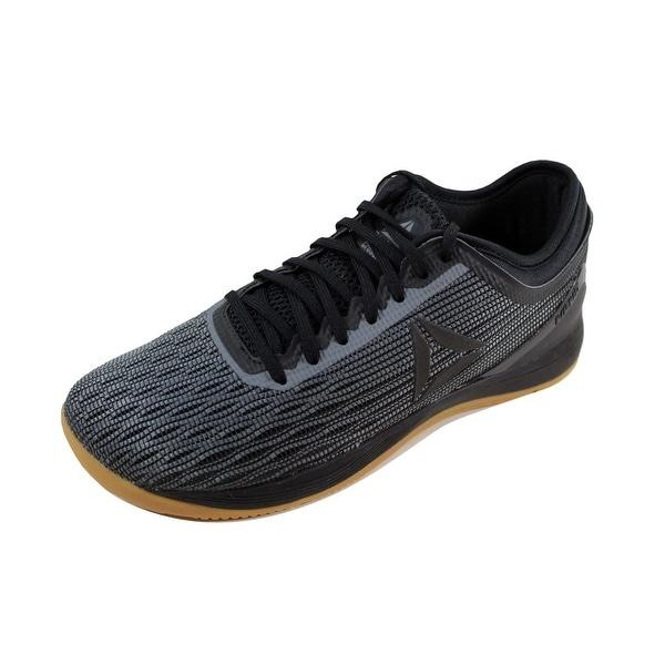 8c09fa724f3b Shop Reebok Men s Crossfit Nano 8.0 Black Alloy-Gum CN1022 - Free ...