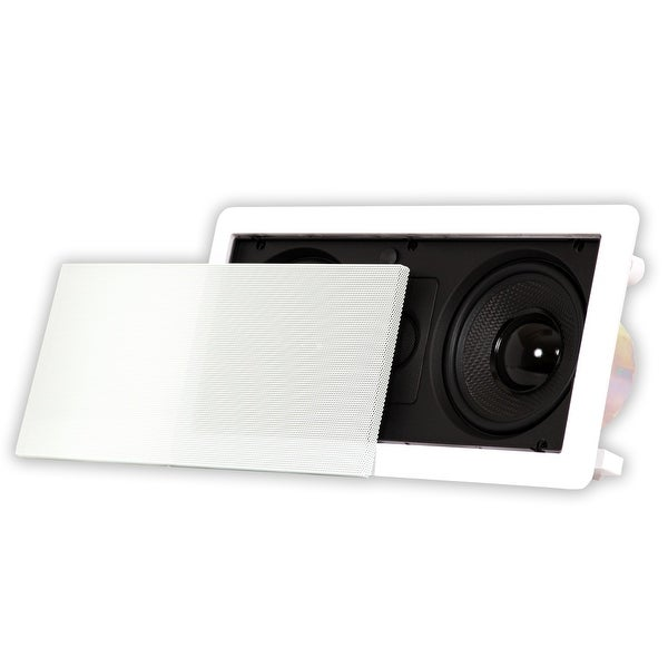 Acoustic Audio HD-5c In Wall Speaker Home Theater Surround Sound Center Channel