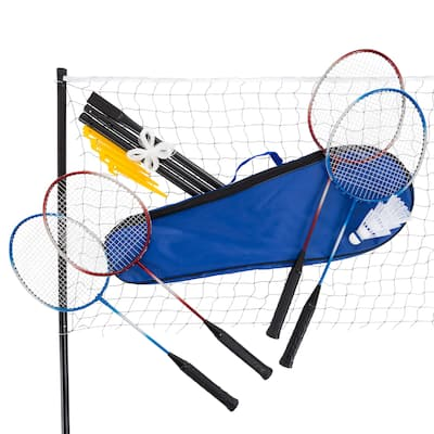 Toy Time Outdoor Badminton Game Set with Racquets