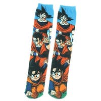 Dragon Ball Z Unisex 360 Photoreal Goku Family Crew Sock - One Size Fits Most