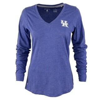 University of Kentucky Ladies Heather Jersey V-Neck Tee