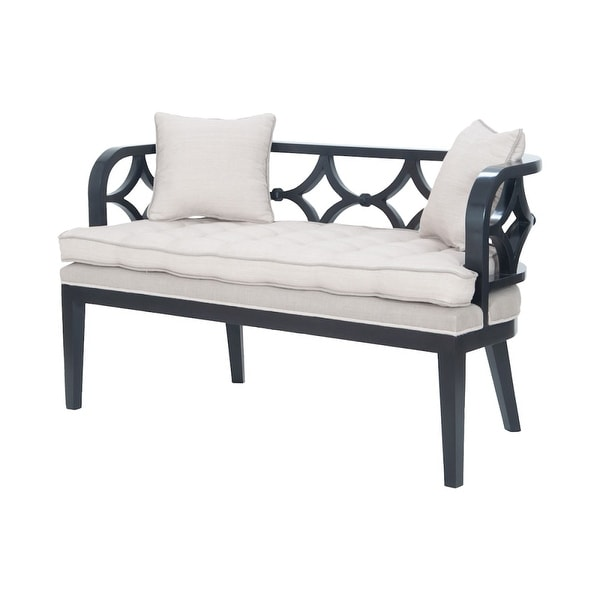 Shop Guildmaster 6516002 Crescent 54 Wide Mahogany Framed Bench