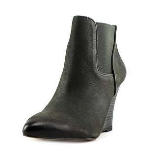 Sole Society Shade Open Toe Leather Wedge Heel