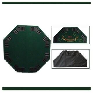 Brybelly Holdings GPTT-001 Green Octogan poker table top