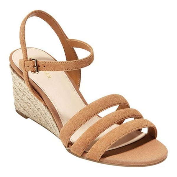 8c249546c98 Cole Haan Women's Jasmine Espadrille Strappy Wedge Sandal ...