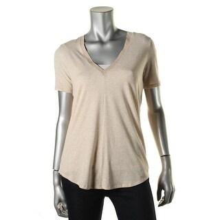 Under Armour Womens Modal Blend Heathered T-Shirt - XS