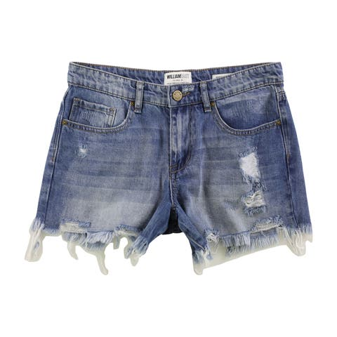 William Rast Womens Perfect Casual Denim Shorts - 25