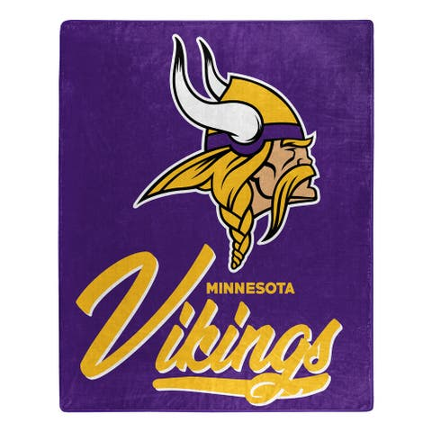 NFL 070 Vikings Signature Raschel