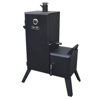 Dyna-Glo DGO1176BDC-D Steel Double Door Vertical Charcoal Offset BBQ Smoker with