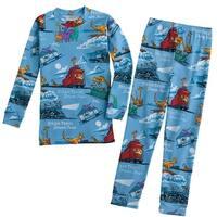 Children's Steam Train, Dream Train - Two-Piece Kid's Pajamas