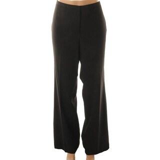 Calvin Klein Womens Hudson Flat Front Stretch Dress Pants