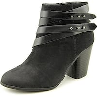 Material Girl Womens MINI Round Toe Ankle Fashion Boots