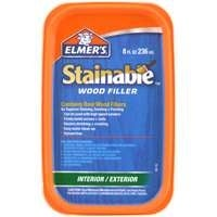 Elmer's E890 Stainable Wood Filler, 8 Oz.