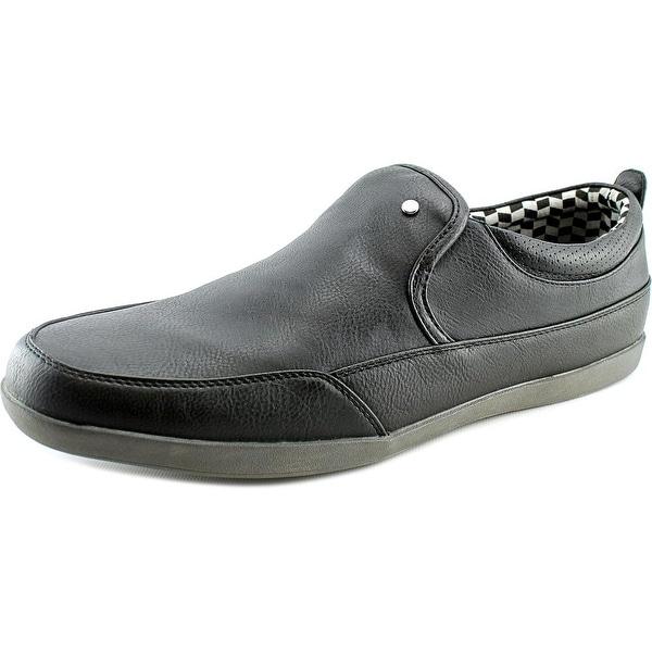 Madden Men Hixon Men Round Toe Synthetic Black Loafer