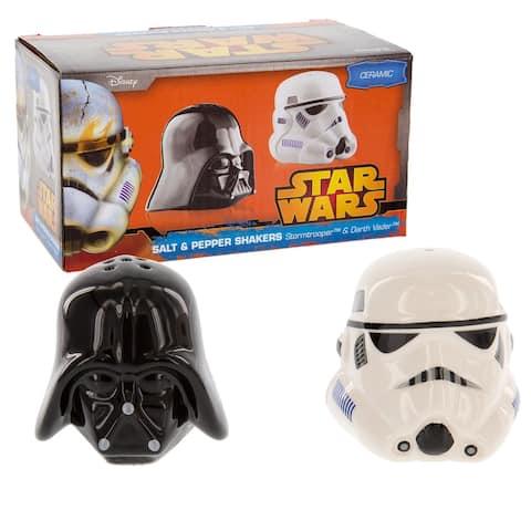 Star Wars Salt & Pepper Shakers Darth Vader & Stormtrooper - Multi