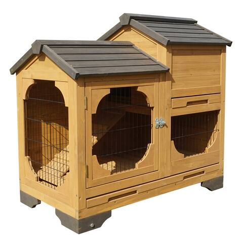Indoor and Outdoor Bunny Lounge