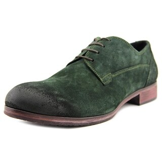 Ciro Lendini 1015 Men Round Toe Suede Green Oxford