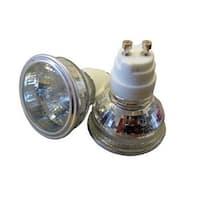 GE 85296 Quartz Halogen Flood Light Bulb, 50 Watts, 12 Volt